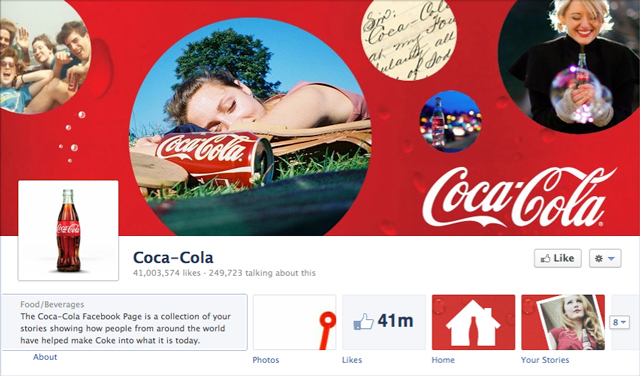 coke cover image - Judge Facebook by its Cover Photo