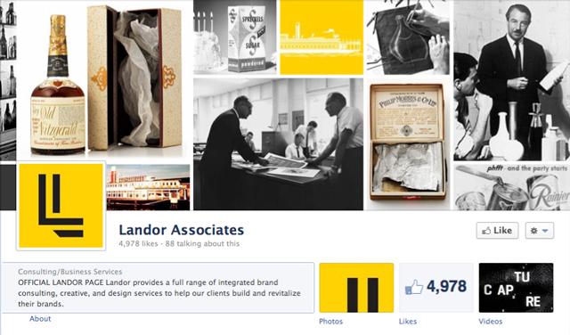 landor associates cover image - Judge Facebook by its Cover Photo
