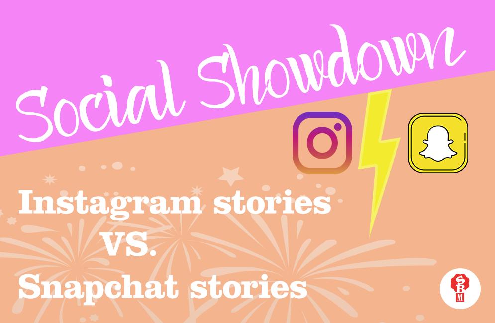 Instagram vs  Snapchat Stories | | Spicy Broccoli Media
